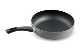 Frying pan. Royalty Free Stock Photography
