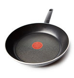 Frying pan. Isolated on white Stock Images