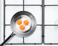 Frying pan Royalty Free Stock Photo