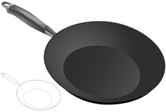 Frying Pan - 3D Royalty Free Stock Images