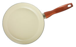 Frying pan with ceramic coating Royalty Free Stock Images