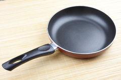 Frying pan for cooking Stock Images