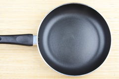 Frying pan for cooking,top view. Royalty Free Stock Photos