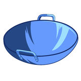 Frying pan  illustration Royalty Free Stock Photography