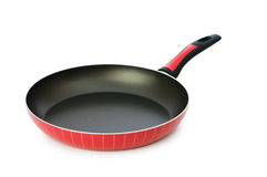 Frying pan isolated Royalty Free Stock Image
