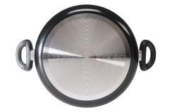 Frying pan. Isolated Royalty Free Stock Images