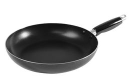 Frying pan. Isolated Stock Photos