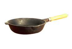 Frying pan isolated Stock Photos