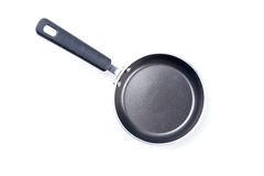 Frying pan isolated on white Royalty Free Stock Images
