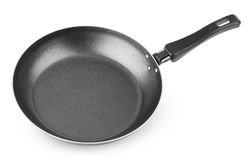 Frying pan isolated on white Stock Image