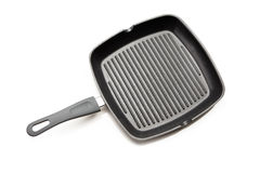 Frying pan for steak Royalty Free Stock Images