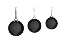 Frying Pans Stock Photography