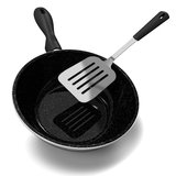 Frypan And Turner Royalty Free Stock Photography
