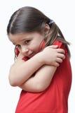 Frysa för liten flicka Royaltyfri Fotografi