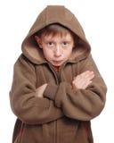 frysa för pojke arkivfoton