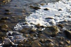 frysa flod Royaltyfria Foton