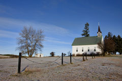 Frysningkyrka i Idaho. Royaltyfria Foton