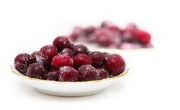fryst Cherry Arkivfoton