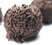 fryst choklad arkivbild