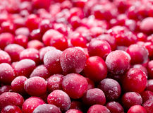 fryst cranberry arkivbilder