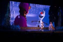 Fryst Disney World, lopp, Hollywood studior arkivbild