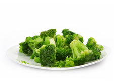 fryst nytt för broccoli arkivbilder