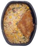 fryst rice för entree fisk royaltyfri fotografi