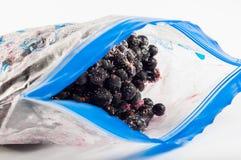 fryste blåbär Royaltyfria Bilder