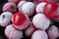 fryste Cherry Royaltyfria Foton