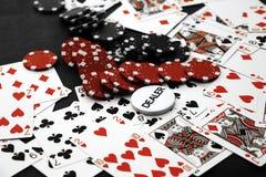 frytki na kasyno Obrazy Stock