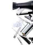 Fryzjerów akcesoria zdjęcie stock