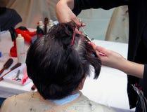 fryzjer Zdjęcia Stock