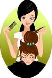 fryzjer męski Zdjęcia Royalty Free