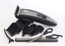 fryzjer męski narzędzi praca Zdjęcie Stock