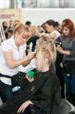 fryzjer męski włosy robi Zdjęcie Stock