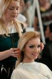 fryzjer męski włosy robi Obraz Stock
