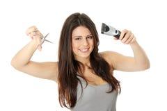 fryzjer męski Fotografia Royalty Free