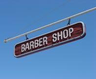 fryzjer męski sklepu znak Fotografia Stock