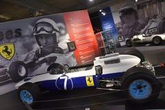 Fryzjera męskiego rocznika Motorsports muzeum w Leeds, Alabama fotografia stock