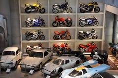 Fryzjera męskiego rocznika Motorsports muzeum w Leeds, Alabama Fotografia Royalty Free