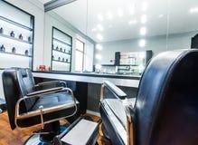 Fryzjera męskiego sklep Obrazy Royalty Free