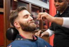 Fryzjera męskiego sklep 4 Zdjęcia Royalty Free