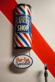 Fryzjera męskiego sklep Zdjęcie Royalty Free