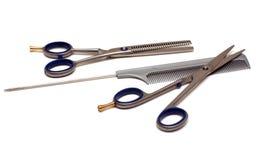fryzjerstw narzędzia Obraz Royalty Free