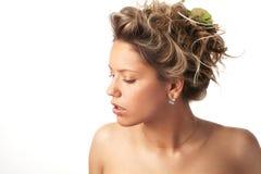 fryzura Obraz Royalty Free