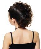 fryzury piękna kobieta obrazy stock