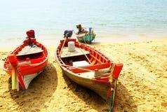 Fsherman boats Royalty Free Stock Image