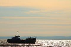 Fshing-Schleppnetzfischer Stockfotos