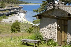 Fsihing cottage Stock Images
