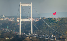 FSM桥梁伊斯坦布尔土耳其 免版税库存照片